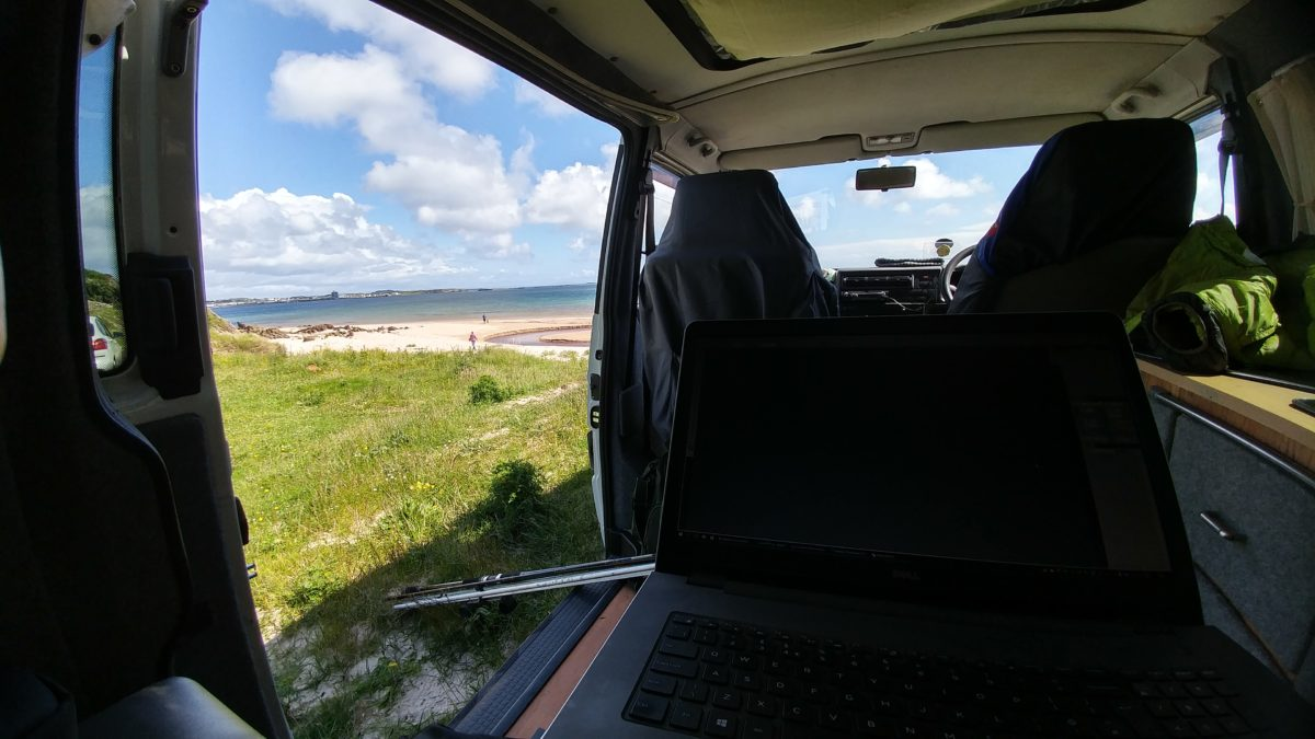 VW T4 Mobile Office Islay