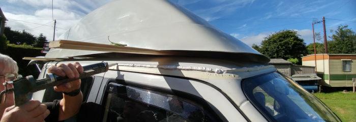VW T4 Hightop Roof Fitting - VW T4 Blog